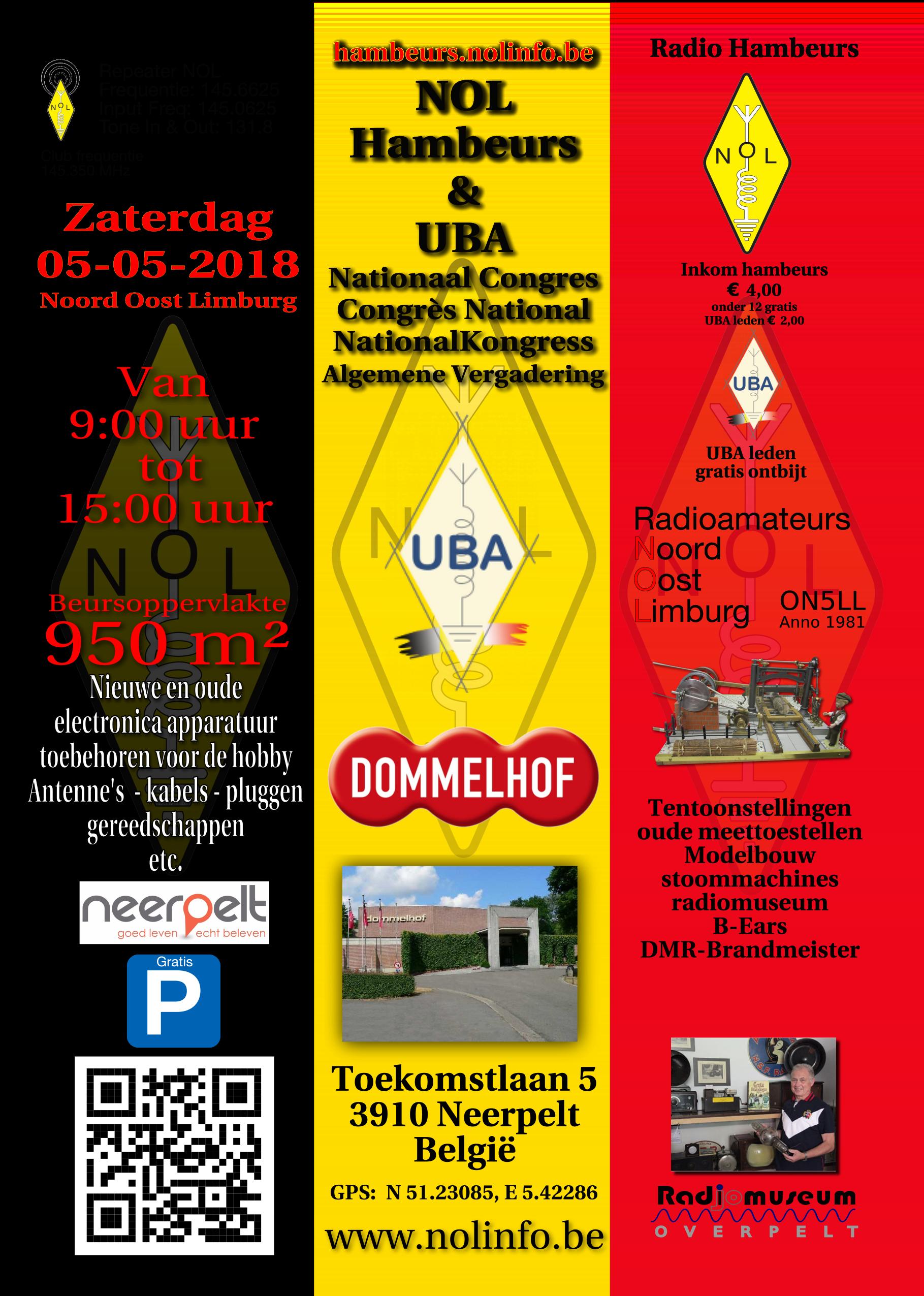 UBA Congres met HAMbeurs op zaterdag 5 mei