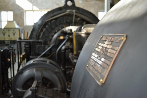 Alexanderson alternator - Photo World Heritage Grimeton