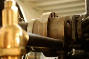 Detail alternator - Photo World Heritage Grimeton