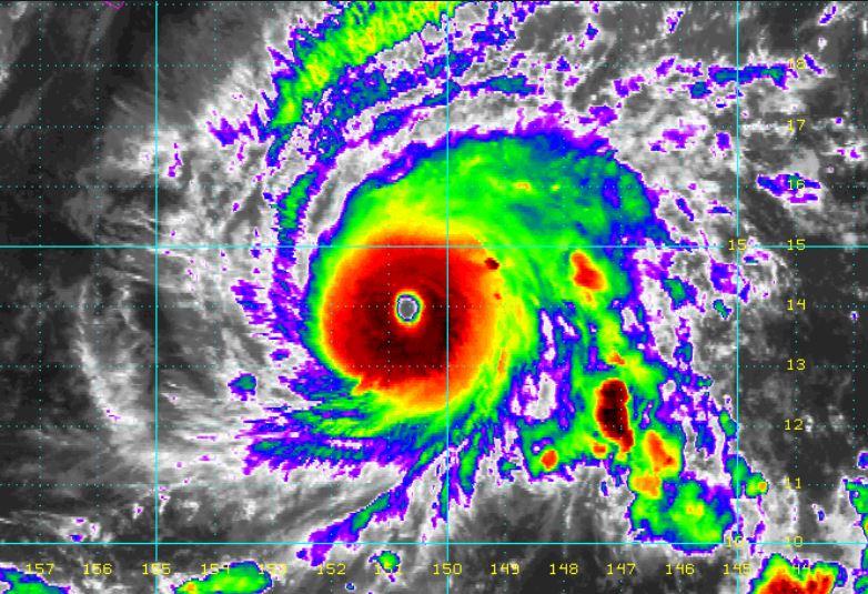 Orkaan Lane op koers naar Hawaï - Hou 14265 en 14312 kHz vrij!