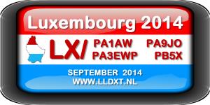 LLDXT expeditie naar Luxemburg