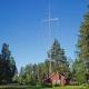 Antennes en mast verwoest in Morokulien