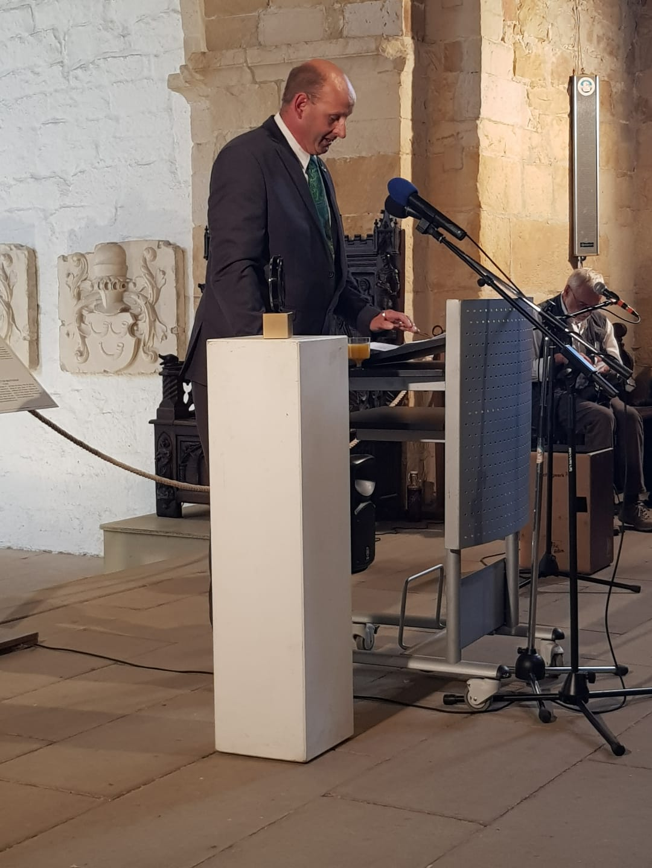 Toespraak van Johan Jongbloed (PA3JEM) bij uitreiking Gouden Antenne
