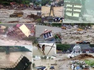 Overstromingen in Kerala India