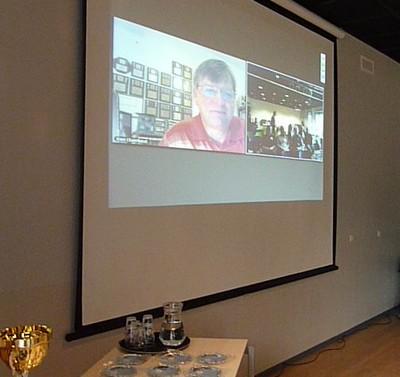 Randy K5ZD via video conference