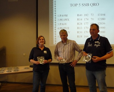 Top-3 in de PA-Beker klasse SSB-QRO