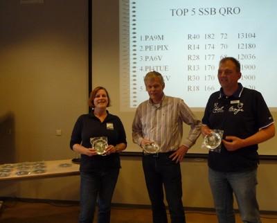 Top-3 in de PA-Beker klasse SSB-QRO