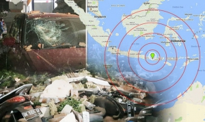 Noodverkeer via satelliet na aardbevingen in Lombok
