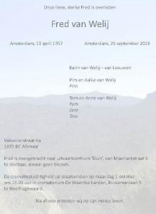 Fred van Welij PD0NQD