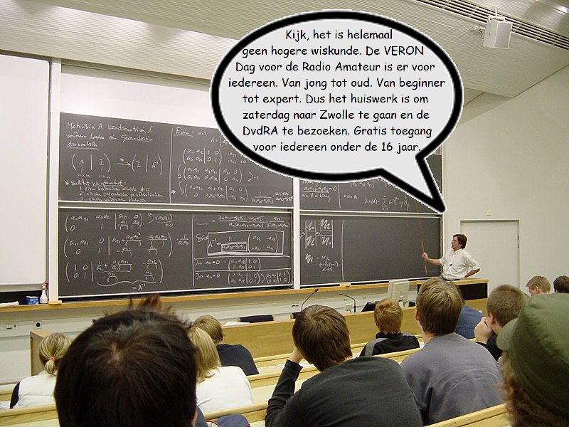 Het is helemaal geen hogere wiskunde
