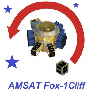 Fox-1Cliff CubeSat van AMSAT klaar voor lancering op 19 november