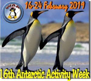 AAW2019, Antarctic activity week nog enkele dagen te gaan