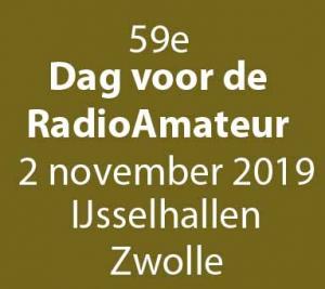 DvdRA dag voor de radioamateur 2019