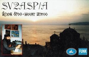 Mount Athos monnik Apollo SV2ASP/A Silent Key