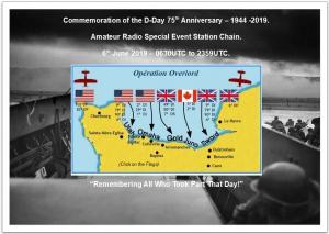 75e verjaardag van D-Day te herdenken