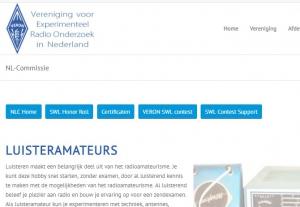 NL commissie met nieuwe pagina's op de VERON website