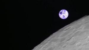 Eclips vanaf Longjiang 2 (DSLWP-B)