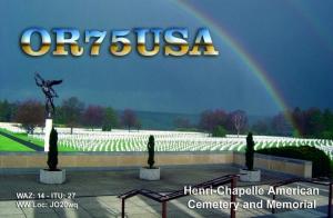 OR75USA QSL-kaart