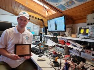 Homebrew Heroes Award voor Hans, G0UPL