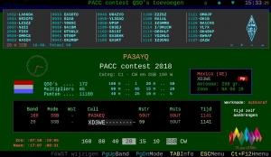 PACC contest een log programma