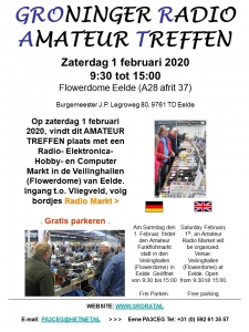 Grorat, Groninger radio amateurtreffen gehouden op 1 februari 2020
