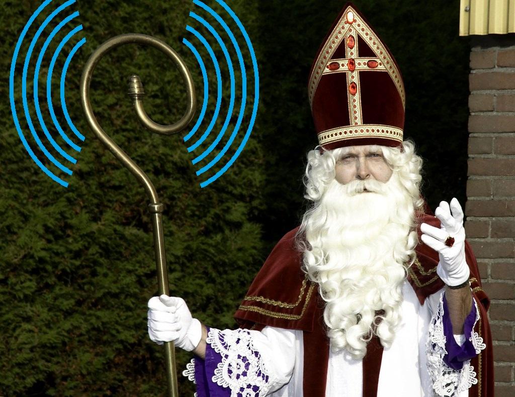 Stress bij Sinterklaas over passende radioamateur presentjes