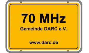 DARC 70 MHz