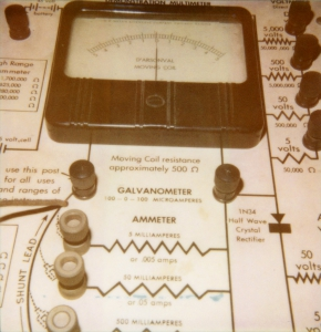De 1N34 als eerste commerciële germanium diode