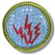 scout zendamateur badge