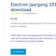 Jaargang Electron 2019