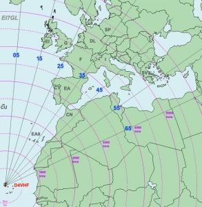 antennes D4VHF verbeterd