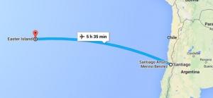 Radiomateur assisteerde vliegtuig onderweg naar Paaseiland