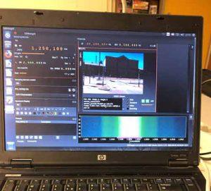 RB-TV experimenten ter voorbereiding van DATV experiment 2 meter