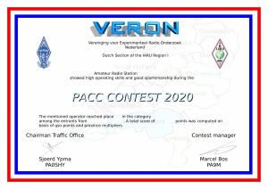 PACC Certificaat
