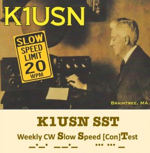 CW-contest op lage snelheid