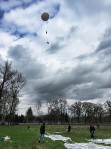 VLF-ballon antenne 210 m