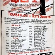 Transatlantic Tests