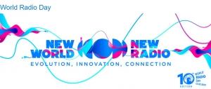 UNESCO wereld radio dag op zaterdag 13 februari 2021