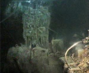 Foto Marconi-radioapparatuur Titanic