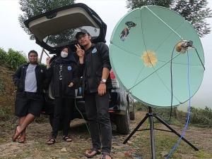 First met Indonesië via QO100