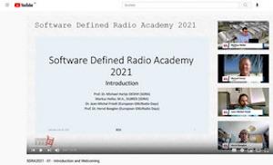 Softwarew Definded radio Academy 2021