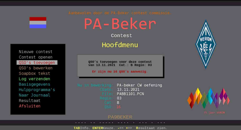 PA-beker contest